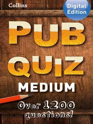 cover image of Collins Pub Quiz (Medium)