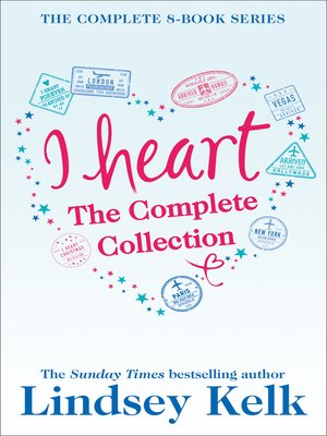 cover image of Lindsey Kelk 8-Book 'I Heart' Collection