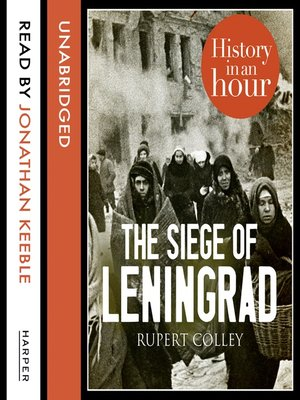 cover image of The Siege of Leningrad