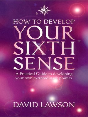 cover image of How to Develop Your Sixth Sense