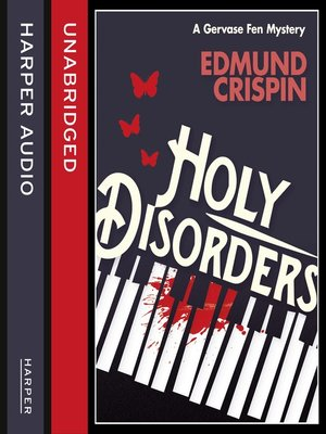 cover image of Holy Disorders