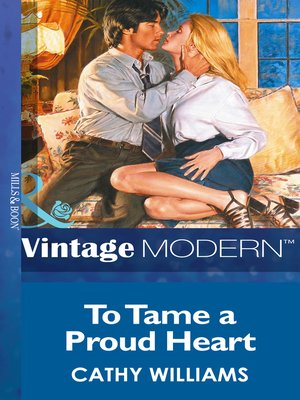 cover image of To Tame a Proud Heart