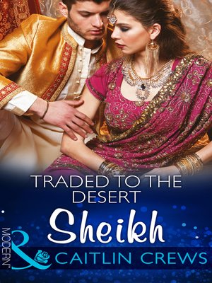 cover image of Traded to the Desert Sheikh