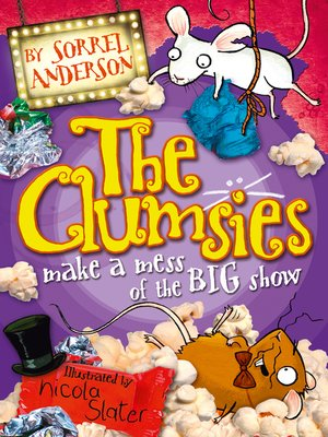 cover image of The Clumsies Make a Mess of the Big Show