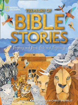 cover image of Treasury of Bible Stories