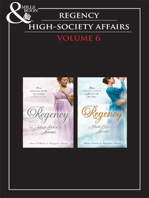 cover image of Regency High Society, Volume 6