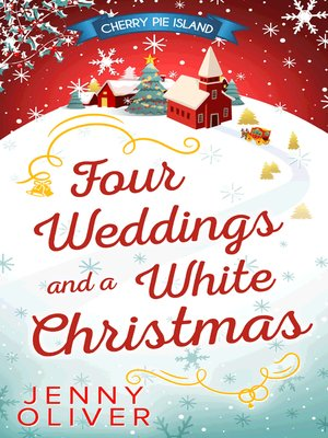 cover image of Four Weddings and a White Christmas