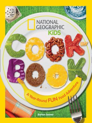 cover image of National Geographic Kids Cookbook