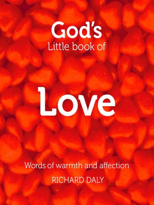 cover image of God's Little Book of Love