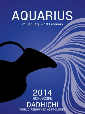 cover image of Aquarius 2014