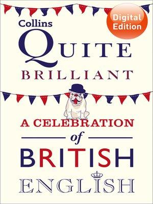 cover image of Collins Quite Brilliant
