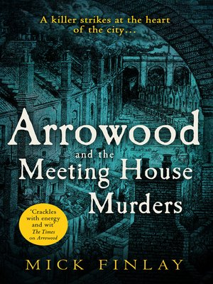 cover image of Arrowood and the Meeting House Murders