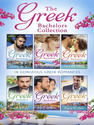 cover image of The Greek Bachelors Collection