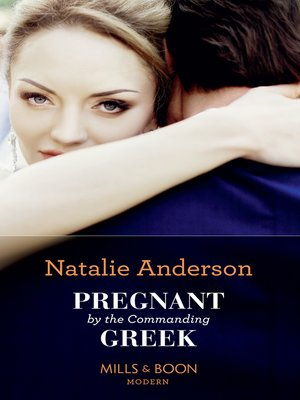 cover image of Pregnant by the Commanding Greek