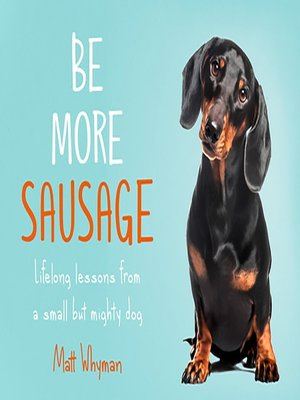 cover image of Be More Sausage