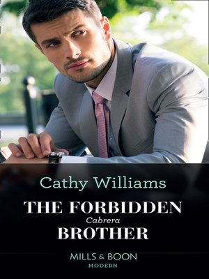 cover image of The Forbidden Cabrera Brother