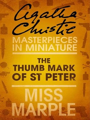 cover image of The Thumb Mark of St Peter