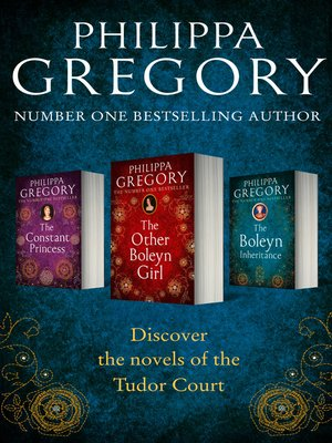cover image of Philippa Gregory 3-Book Tudor Collection 1