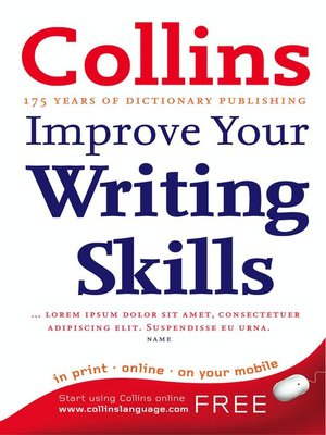 cover image of Collins Improve Your Writing Skills