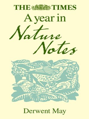 cover image of The Times a Year in Nature Notes