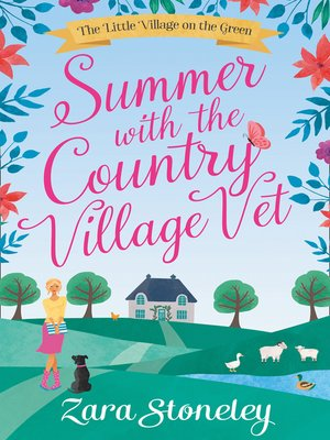 cover image of Summer with the Country Village Vet