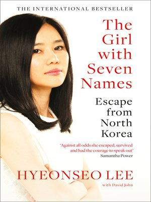 cover image of The Girl with Seven Names