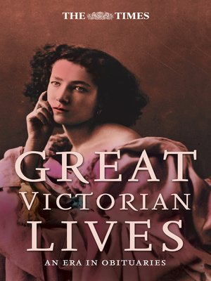 cover image of The Times Great Victorian Lives