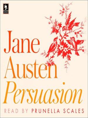 cover image of Persuasion (Argo Classics)