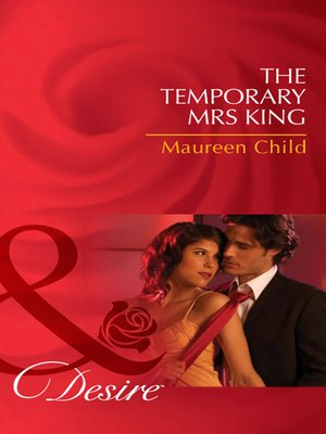 cover image of The Temporary Mrs King