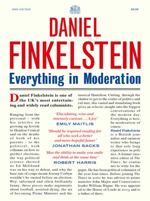 cover image of Everything in Moderation