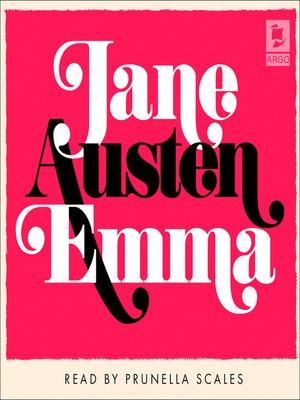 cover image of Emma (Argo Classics)