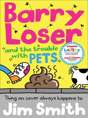 cover image of Barry Loser and the trouble with pets
