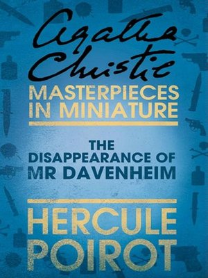 cover image of The Disappearance of Mr Davenheim