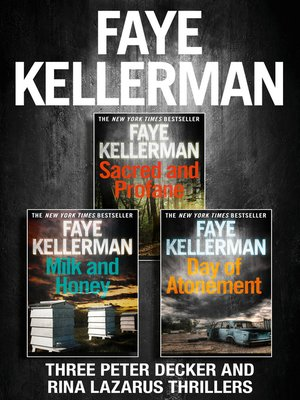 cover image of Peter Decker 3-Book Thriller Collection