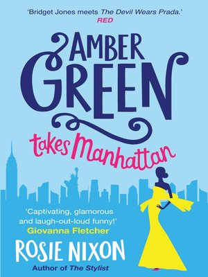 cover image of Amber Green Takes Manhattan