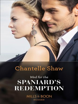cover image of Wed For the Spaniard's Redemption