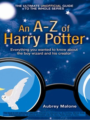 cover image of An A-Z of Harry Potter