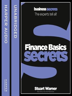 cover image of Finance Basics
