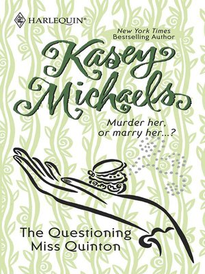 cover image of The Questioning Miss Quinton