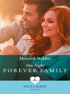 cover image of One Night to Forever Family