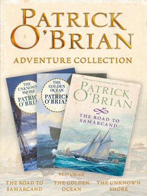 cover image of Patrick O'Brian 3-Book Adventure Collection