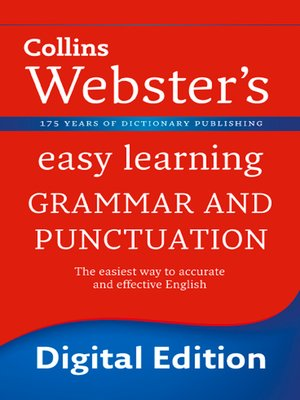 cover image of Grammar and Punctuation