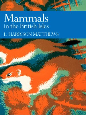 cover image of Mammals in the British Isles