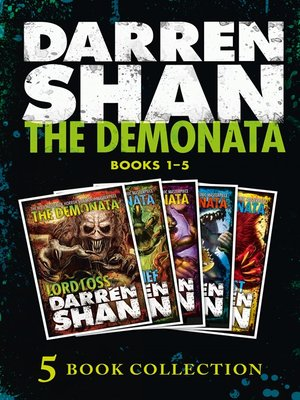 cover image of The Demonata 1-5