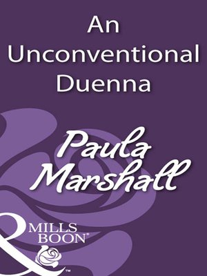 cover image of An Unconventional Duenna
