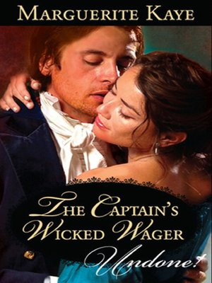 cover image of The Captain's Wicked Wager