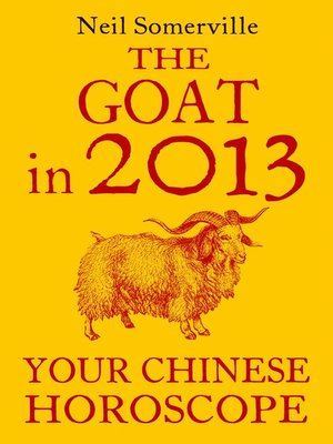 cover image of The Goat in 2013