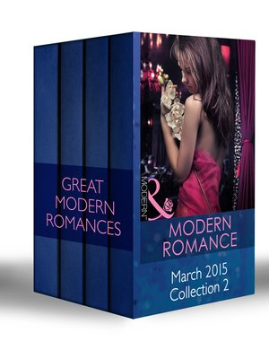cover image of Modern Romance March 2015 Collection 2