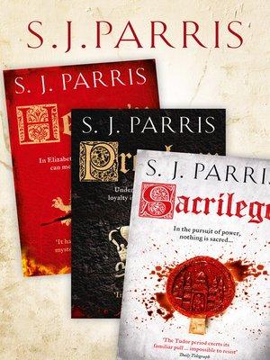 cover image of Giordano Bruno Thriller Series Books 1-3
