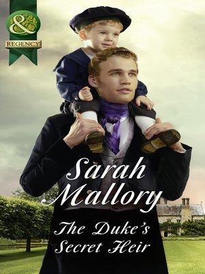 cover image of The Duke's Secret Heir